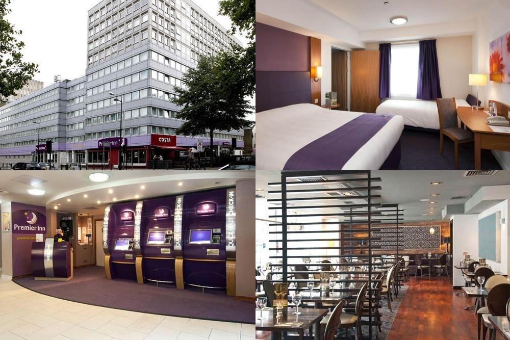 Premier Inn London Euston, 倫敦飯店, 倫敦旅館, 倫敦住宿, 廉價旅館, King Cross