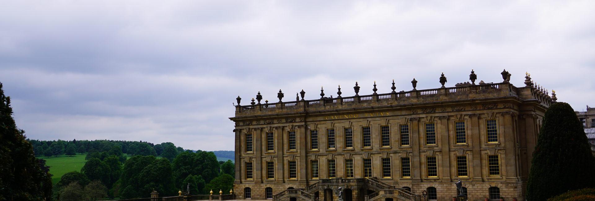 英國 峰區景點  Chatsworth House 查茨沃斯莊園 (達西莊園)