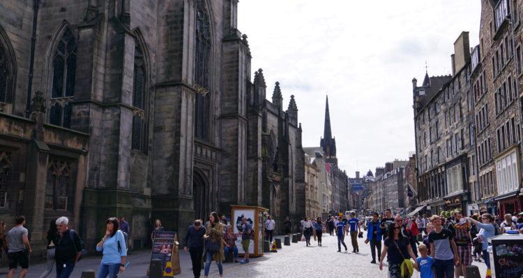 愛丁堡, 皇家哩大道, Old Town, Edinburgh